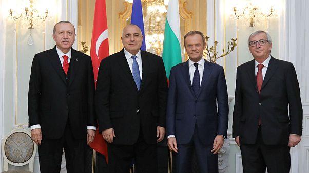 Erdogan, Borissov, Tusk, Juncker