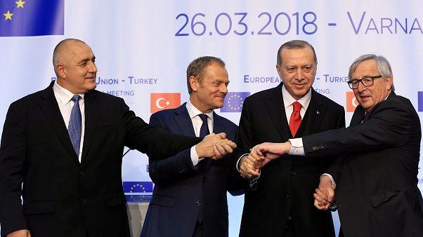 La UE y Turquía no liman asperezas en Bulgaria
