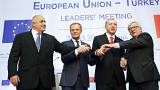 Nenhuma decisão concreta na cimeira UE-Turquia