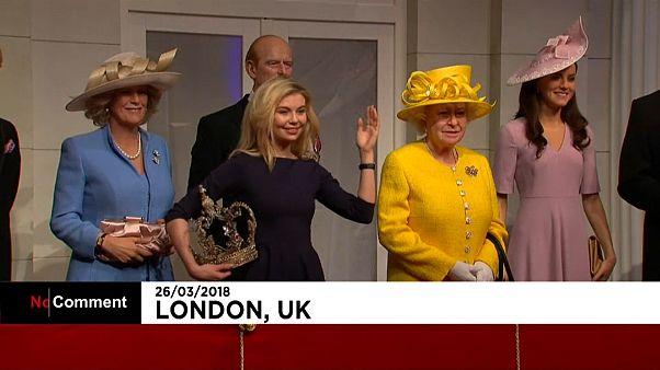 Dans la peau de la famille royale chez Madame Tussauds à Londres