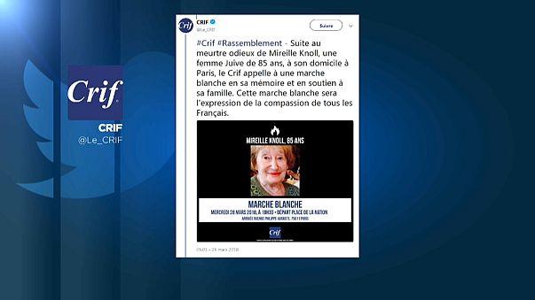 85-jährige Holocaust-Überlebende in Paris ermordet