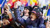 Binlerce Moldovalı, Romanya ile birleşme çağrısında bulundu