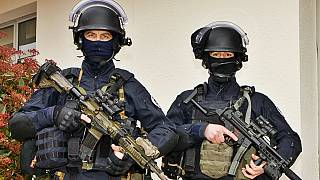 French Gendarmerie GIGN swat troopers