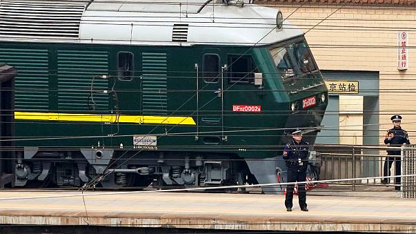 Dünya basını Çin'deki esrarengiz trenin peşinde