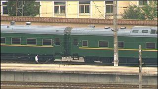 Kim e il mistero del treno verde oliva a Pechino...