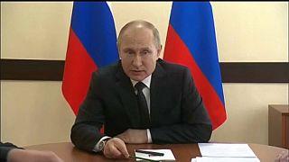 Plázatűz: Putyin hanyagságról beszél