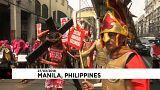 بالفيديو: تظاهرة في الفلبين ضدّ السياسات الاقتصادية