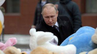 """Incendie de Kemerovo : des """"négligences"""" selon Poutine"""