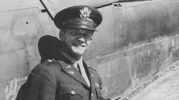 American WWII fighter pilot's body returned from France after 74 years