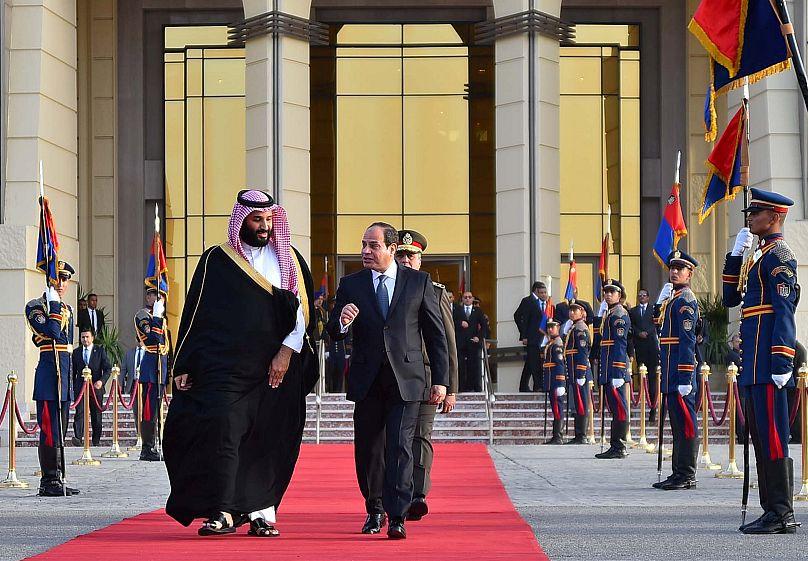 Egyiptomi elnöki hivatal / Reuters