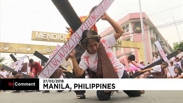 Proteste in Manila