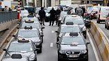 Xάος στις Βρυξέλλες από τους οδηγούς ταξί