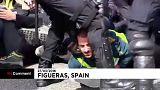 Puigdemont támogatói zártak le egy autópályát