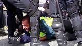 Separatisten blockieren nach Puigdemonts Festnahme Autobahn in Katalonien