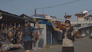 Dos sudafricanos baten el récord del Great Himalaya Trail