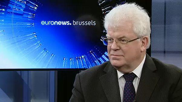 L'ambassadeur russe auprès de l'Union européenne Vladimir Chizhov