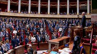 French lower house holds minute of silence for victms of supermarket attack