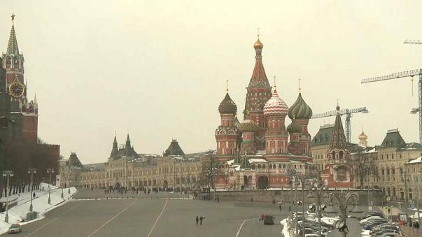 Colère des Moscovites devant l'expulsion de diplomates russes