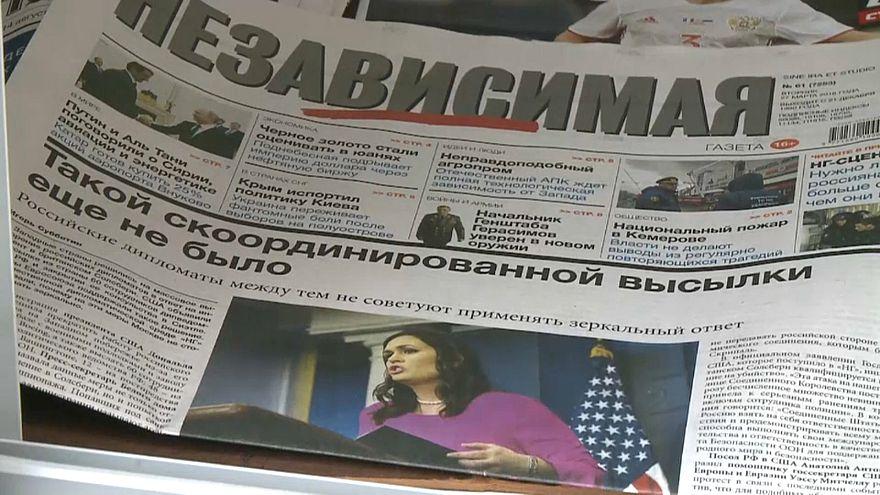 Moskauer Meinungen zu den Ausweisungen