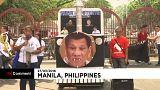 Filipinler'de Devlet Başkanı Duterte'ye tepki