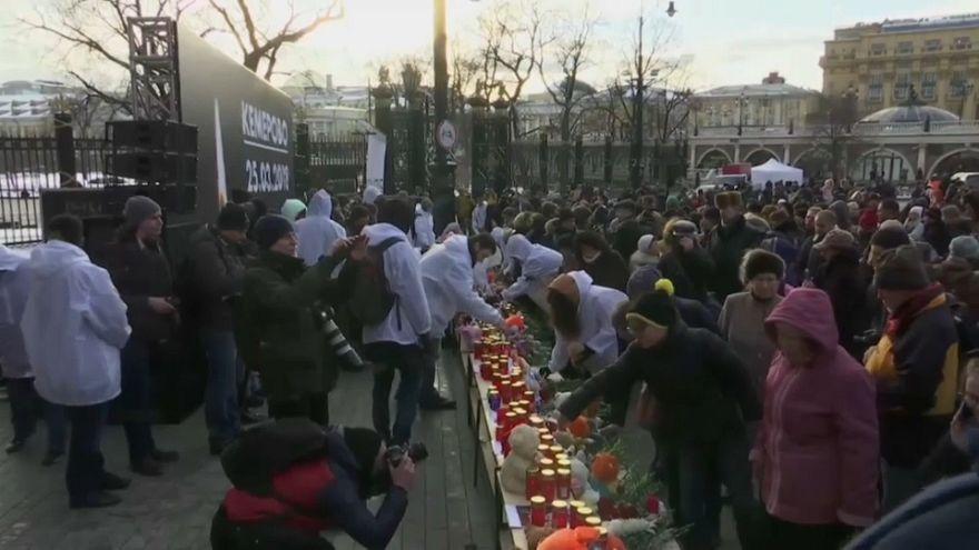 Cris d'indignation après l'incendie de Kemerovo