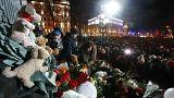 Акция памяти на Пушкинской площади в Москве