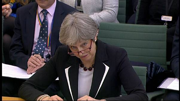 Theresa May questioned by parliamentary committee