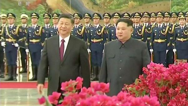 Nordkoreas Machthaber Kim Jong Un überraschend in Peking