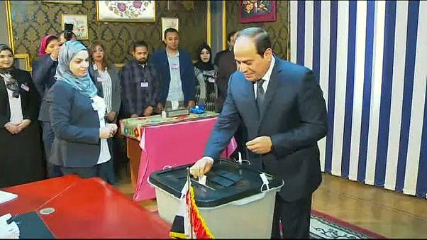 الانتخابات المصرية تختتم اليوم وتوقعات بالفوز لصالح السيسي