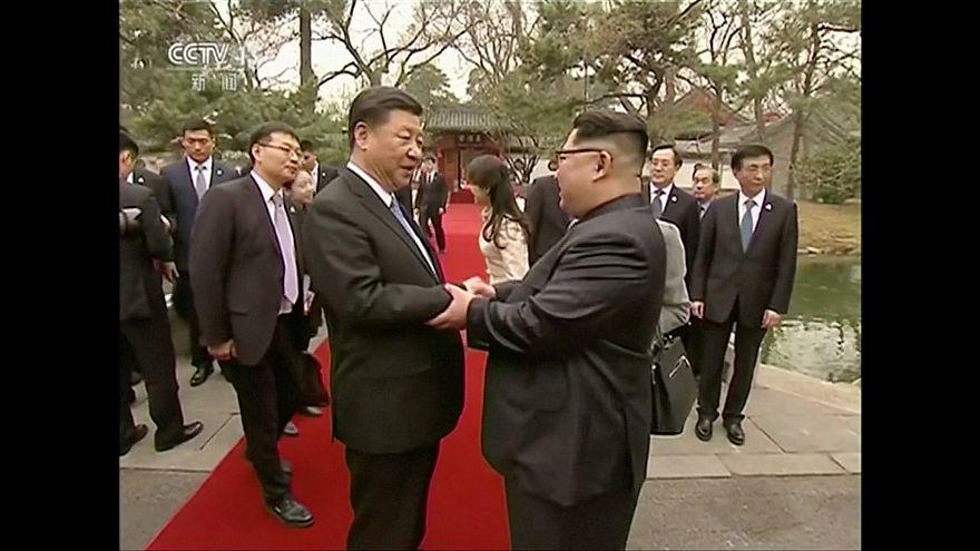 Kim Jong-un viaja a China y se reúne con Xi Jinping