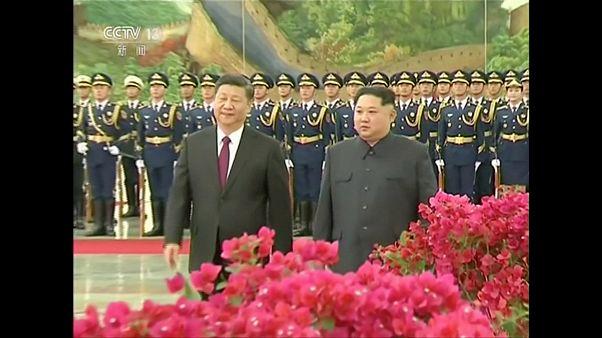 Στο Πεκίνο ο Κιμ Γιονγκ Ουν - Εξήγγειλε «αποπυρηνικοποίηση»