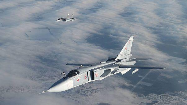 «Αερομαχίες» μαχητικών Ρωσίας - ΗΠΑ στο FIR Λευκωσίας
