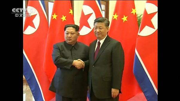Kim Yong Un'un Çin'e yaptığı tarihi ziyaret doğrulandı