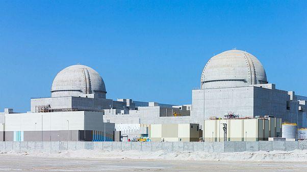واحدهای شماره یک و دو نیروگاه هستهای البرکه در ابوظبی، امارات