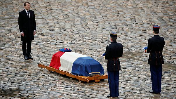 La France rend un hommage national au colonel Arnaud Beltrame