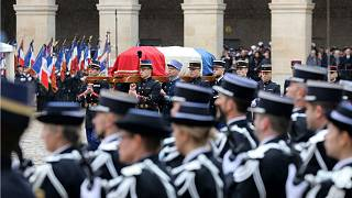 France holds memorial service for hero police officer