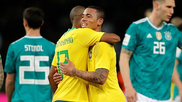Brasil vinga 'Mineirazo' e vence Alemanha