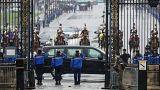 فرنسا تكرم الضابط أرنو بلترام الذي قتل في هجوم تريب الإرهابي