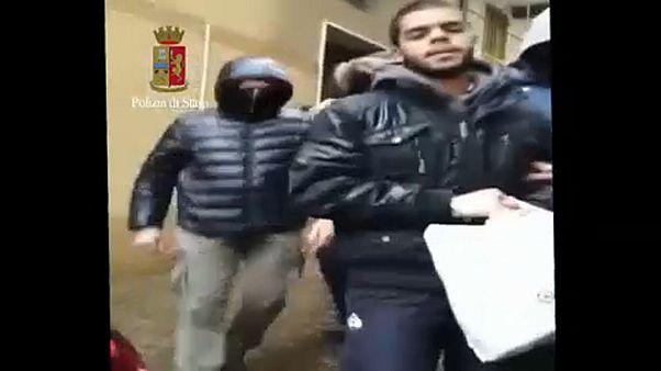 Terrorellenes razzia Olaszországban