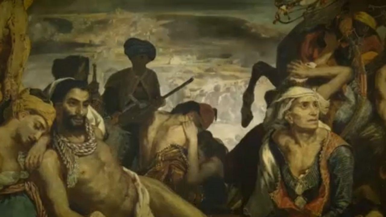 Delacroix-retrospektív nyílt a Louvre-ban