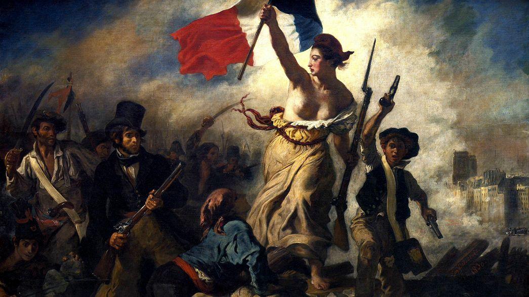 La liberté guidant le peuple, tableau d'Eugène Delacroix