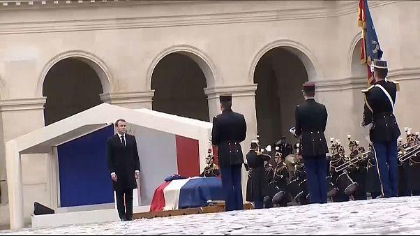 Франция простилась с героем