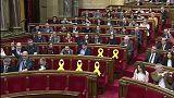 """El Parlament defiende el """"derecho"""" de Puigdemont a ser investido"""