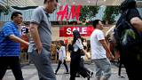 Multi-billion euro pile of unsold clothes at H&M