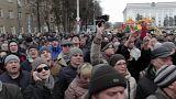 Kémerovo pide la dimisión de Amán Tuléyev