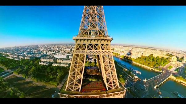 Survoler Paris grâce à la réalité virtuelle