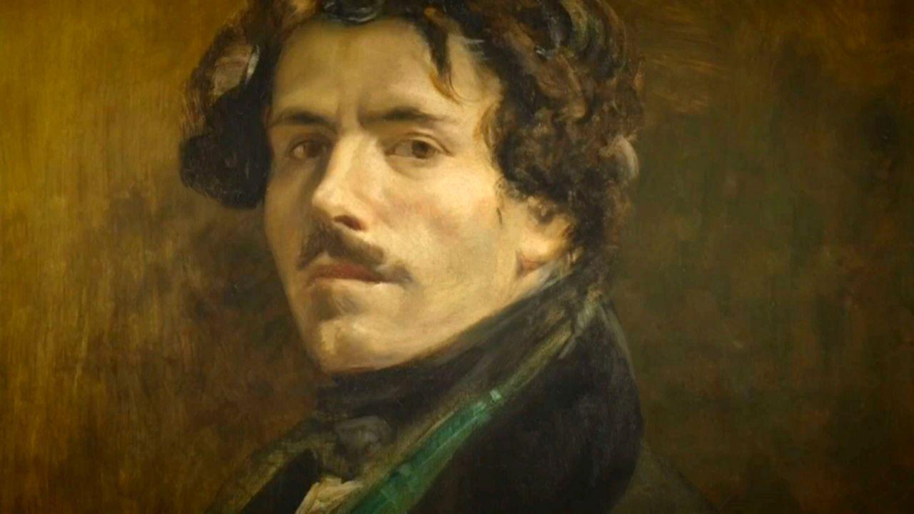 Paris'in Louvre Müzesi'nde Eugene Delacroix sergisi