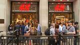 H&M revela queda nas vendas