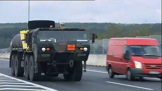 Un plan européen de transport militaire