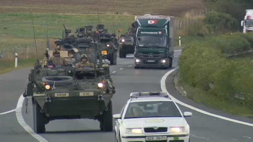Katonai Schengen-övezet